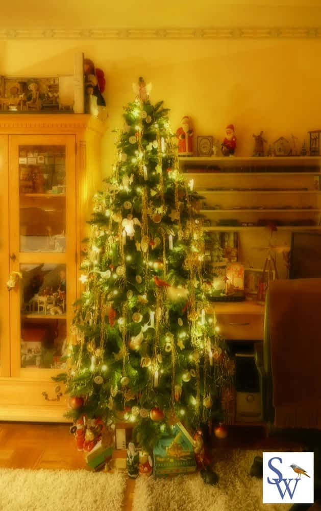 Gescmückter Weihnachtsbaum