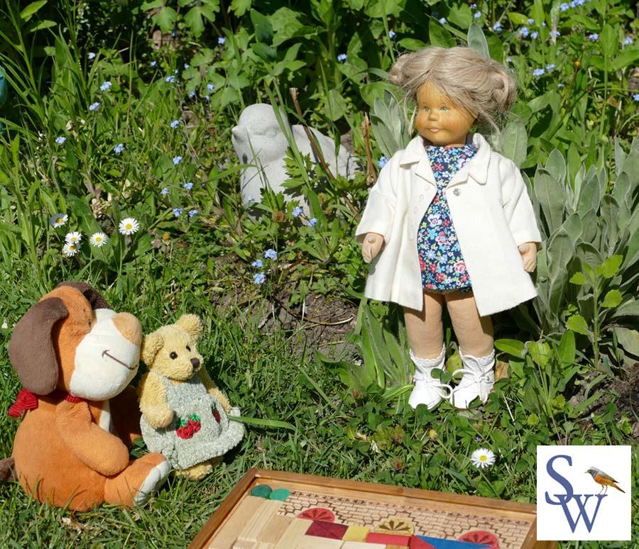Lotte baut ihre Villa. Lotte führt durch mein Kinderbuch - Lottes magische Reise